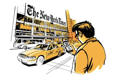 Extracto portada libro 'La reinvención del New York Times' de Ismael Nafría
