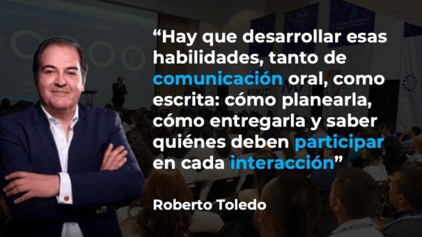Roberto Toledo, PMI. Transformación, cultura, gestión del cambio y proyectos