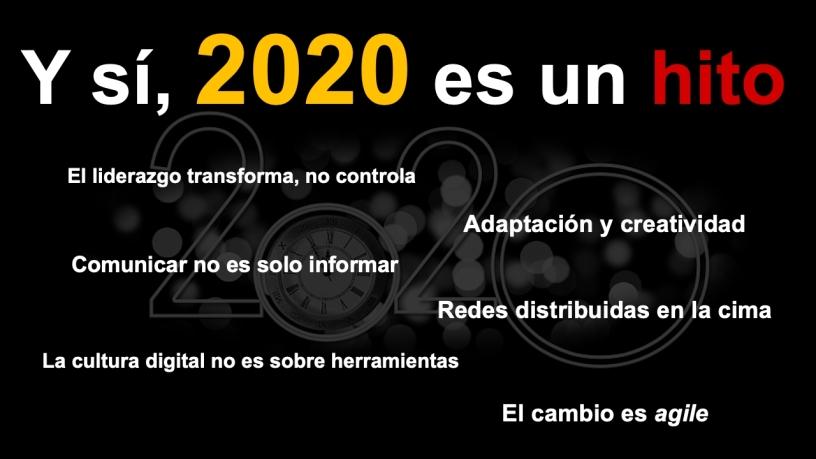 2020 será recordado como un hito